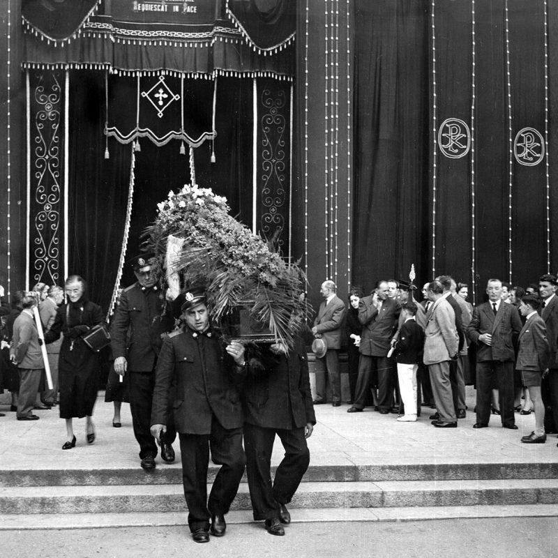 Funerale Maria Galli